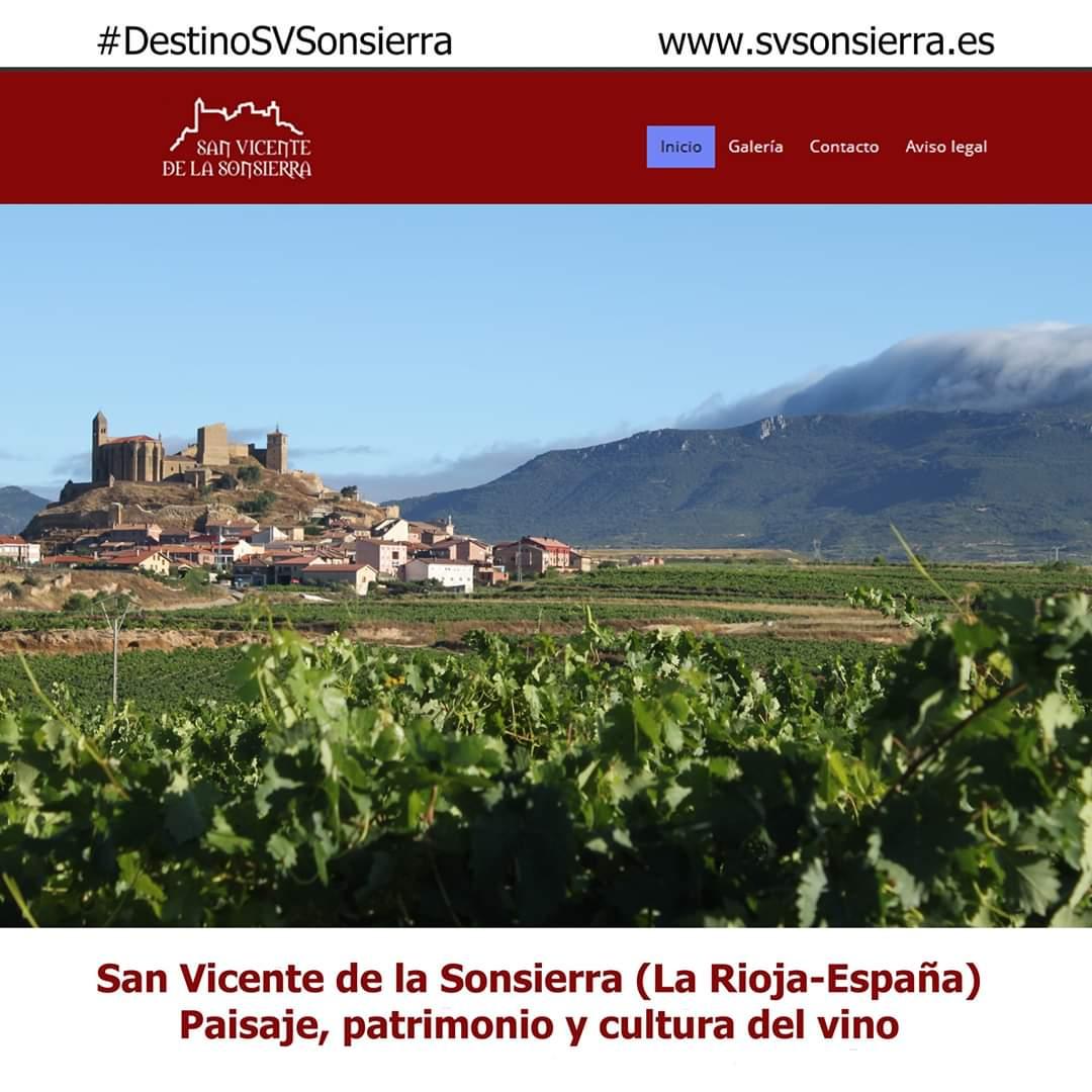 'Destino San Vicente de la Sonsierra': nueva web turística y nueva oficina de turismo 1