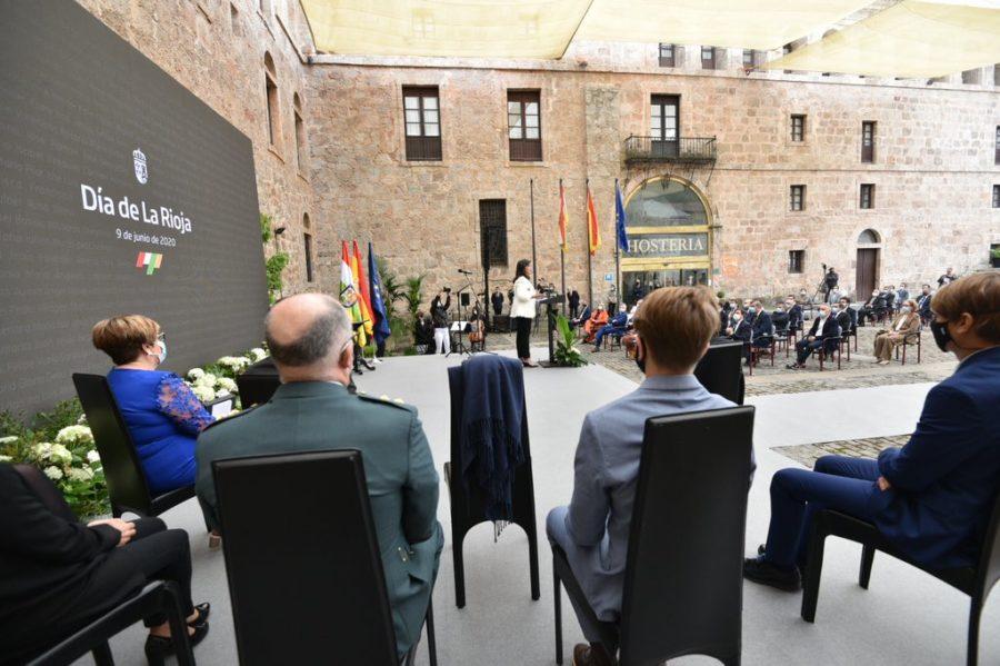 FOTOS: La celebración del Día de La Rioja en San Millán en tiempos de pandemia 7