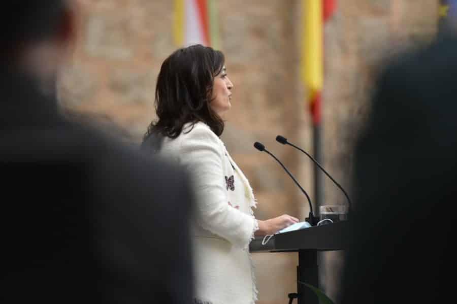 FOTOS: La celebración del Día de La Rioja en San Millán en tiempos de pandemia 8