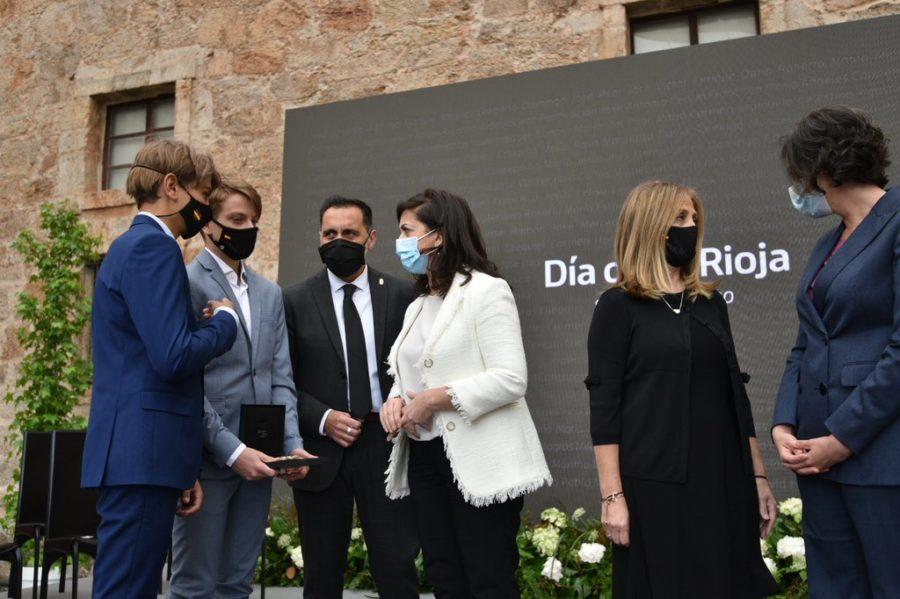 FOTOS: La celebración del Día de La Rioja en San Millán en tiempos de pandemia 10