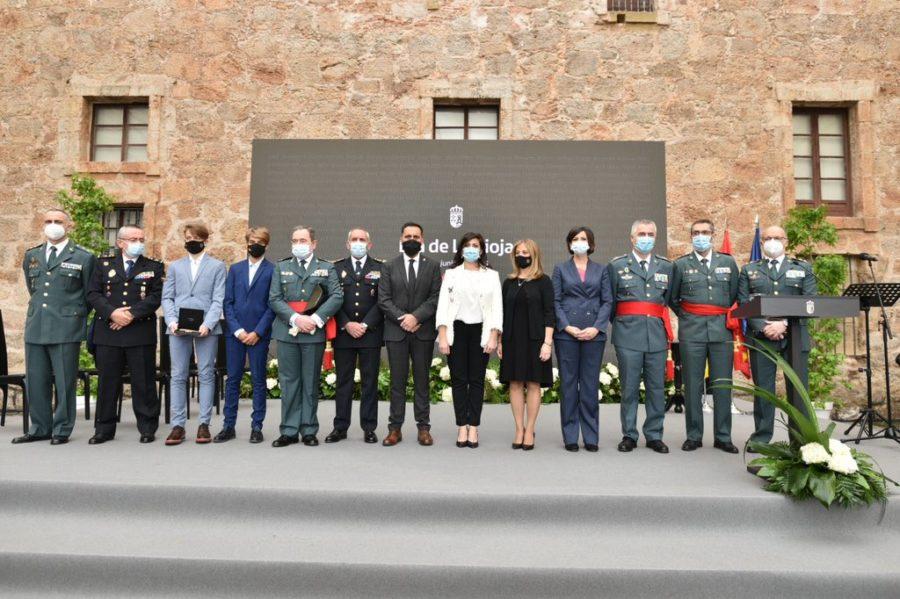 FOTOS: La celebración del Día de La Rioja en San Millán en tiempos de pandemia 11