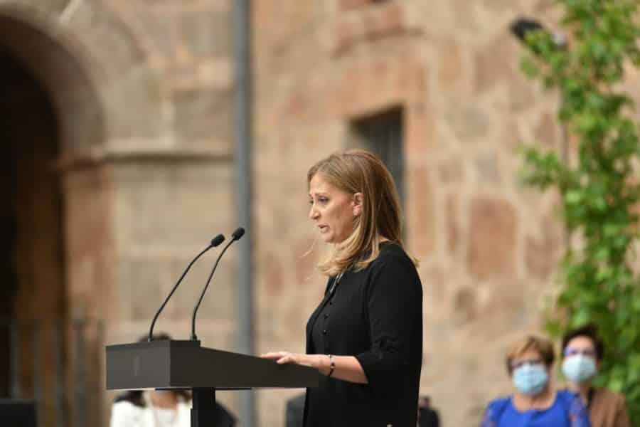 FOTOS: La celebración del Día de La Rioja en San Millán en tiempos de pandemia 2