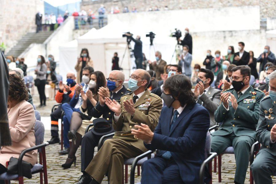 FOTOS: La celebración del Día de La Rioja en San Millán en tiempos de pandemia 4