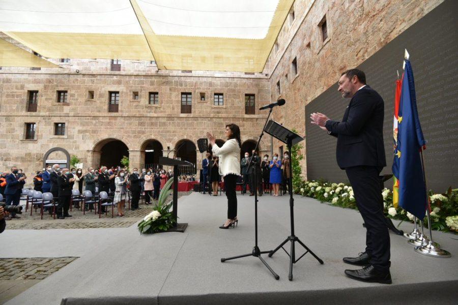 FOTOS: La celebración del Día de La Rioja en San Millán en tiempos de pandemia 5