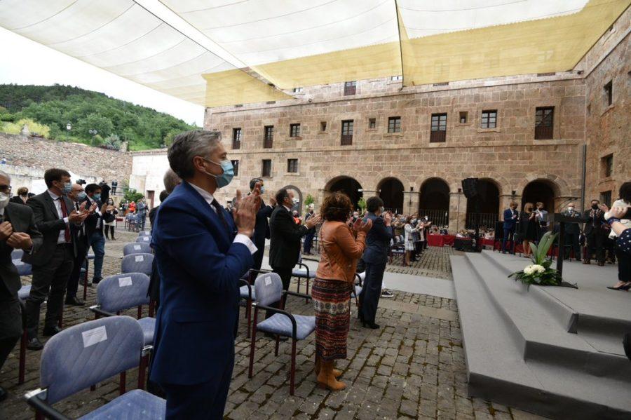FOTOS: La celebración del Día de La Rioja en San Millán en tiempos de pandemia 6