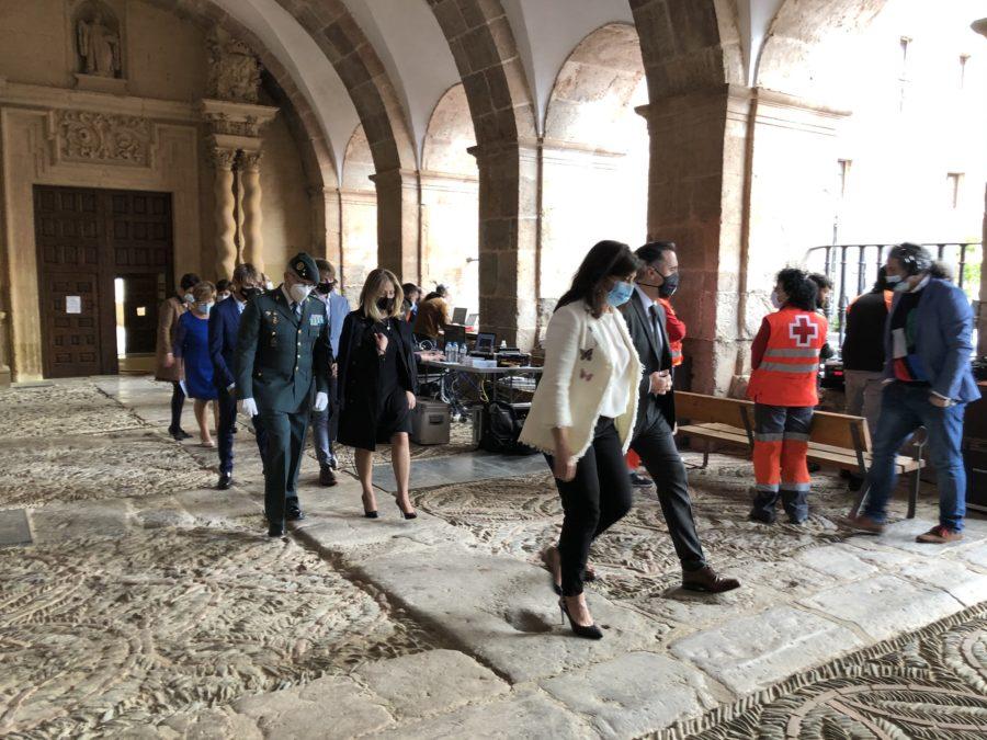 FOTOS: La celebración del Día de La Rioja en San Millán en tiempos de pandemia 12