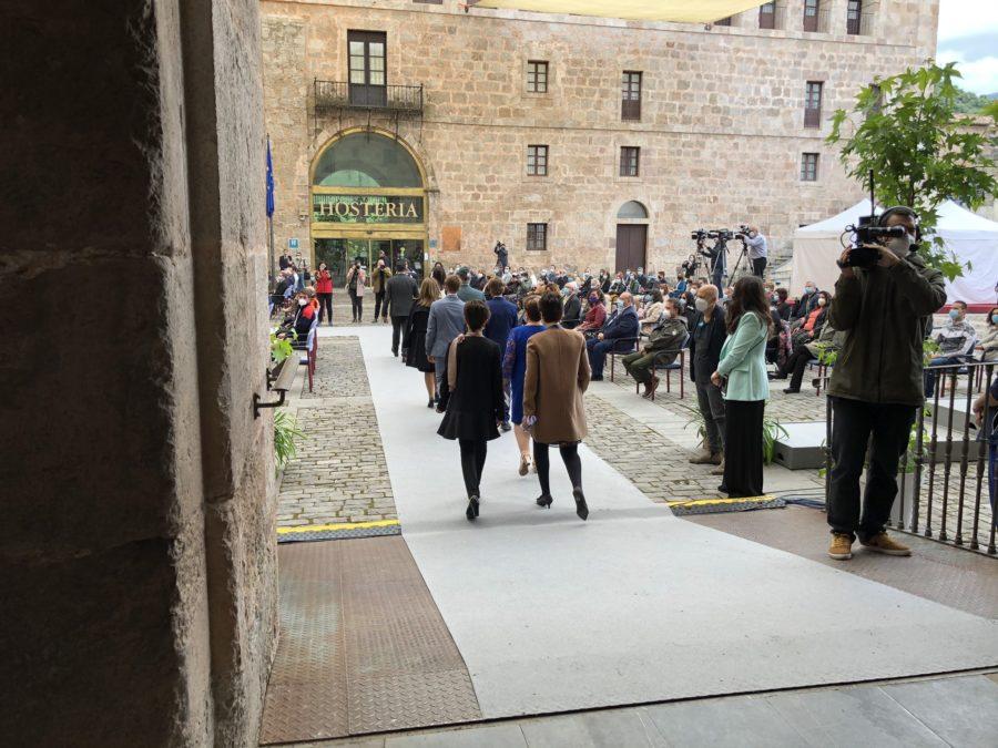 FOTOS: La celebración del Día de La Rioja en San Millán en tiempos de pandemia 15