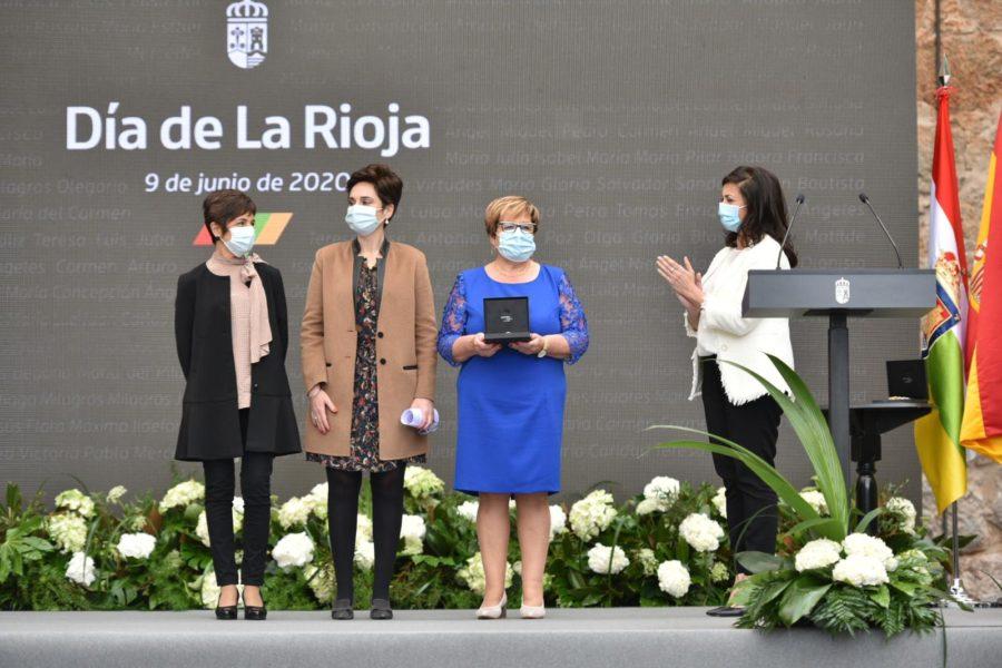 FOTOS: La celebración del Día de La Rioja en San Millán en tiempos de pandemia 17