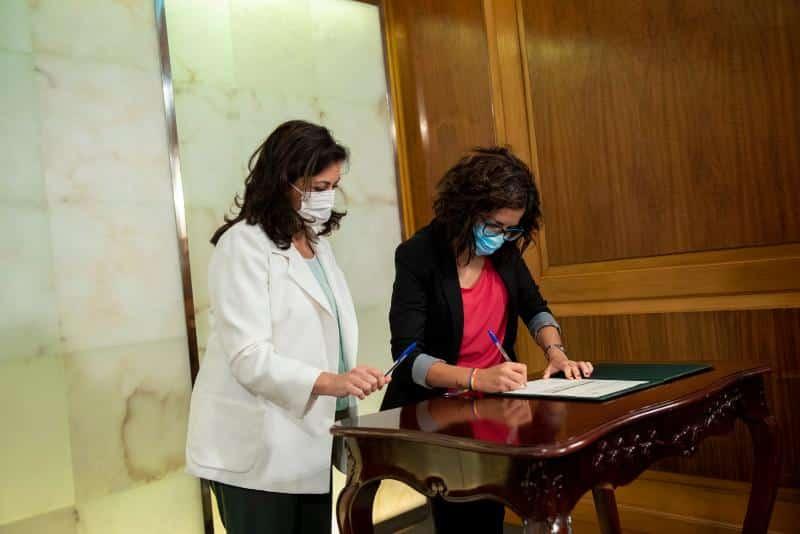Haro, Nájera y Santo Domingo firman los convenios de cabeceras de comarca 5