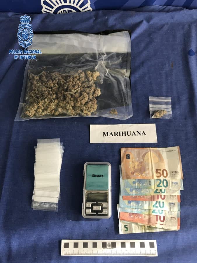 La Policía detiene a un varón por un delito de tráfico de drogas en Logroño 1