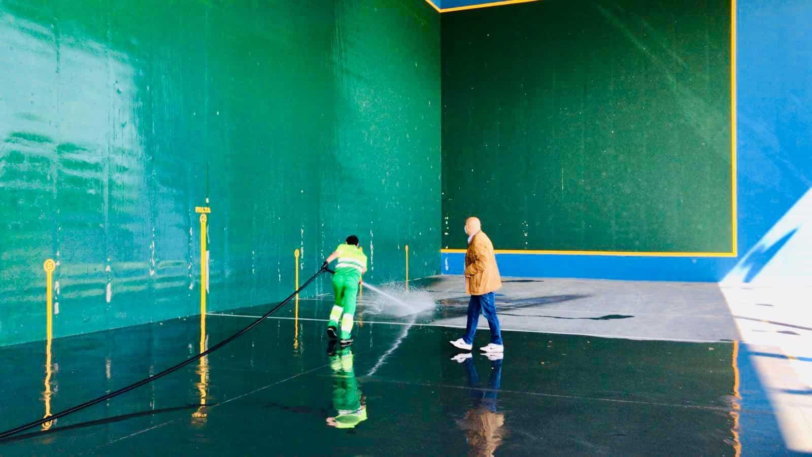 Haro prepara la apertura de las instalaciones deportivas de El Mazo 1