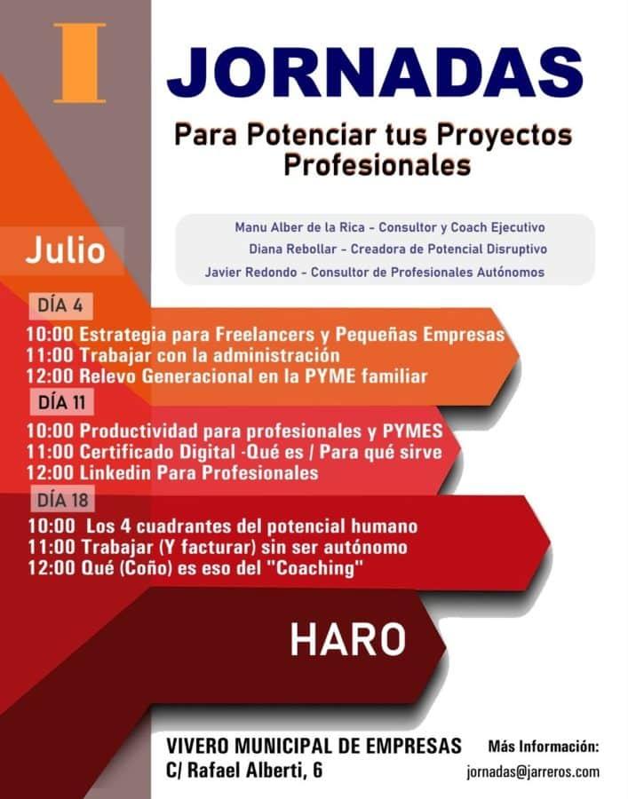 Arrancan en el Vivero de Empresas de Haro las jornadas para potenciar proyectos profesionales 1