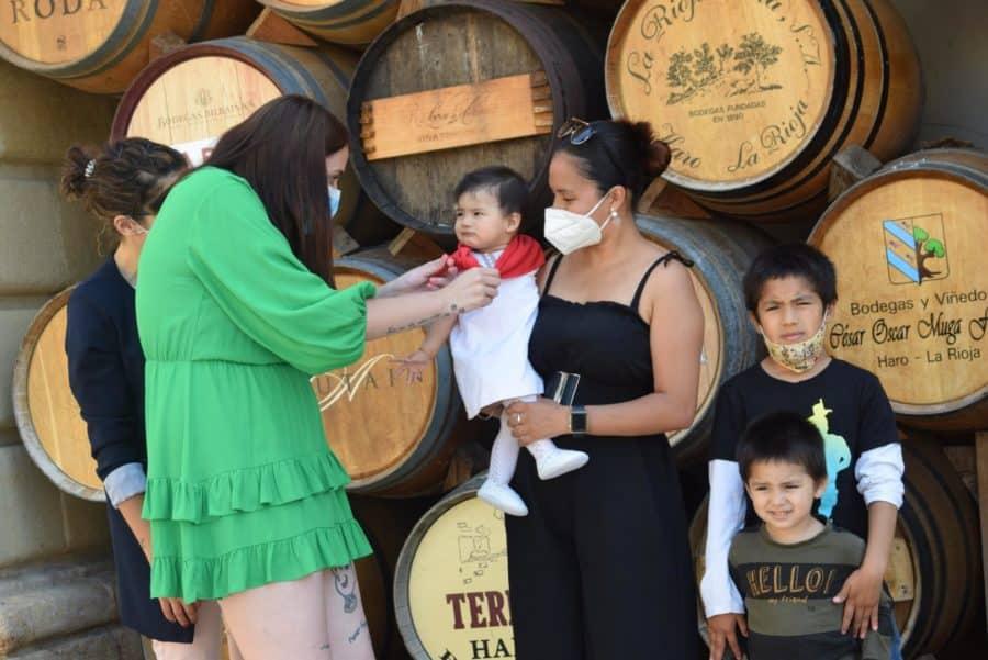 55 niños reciben su pañuelo de las fiestas de Haro en una tradición que sobrevive al COVID 12