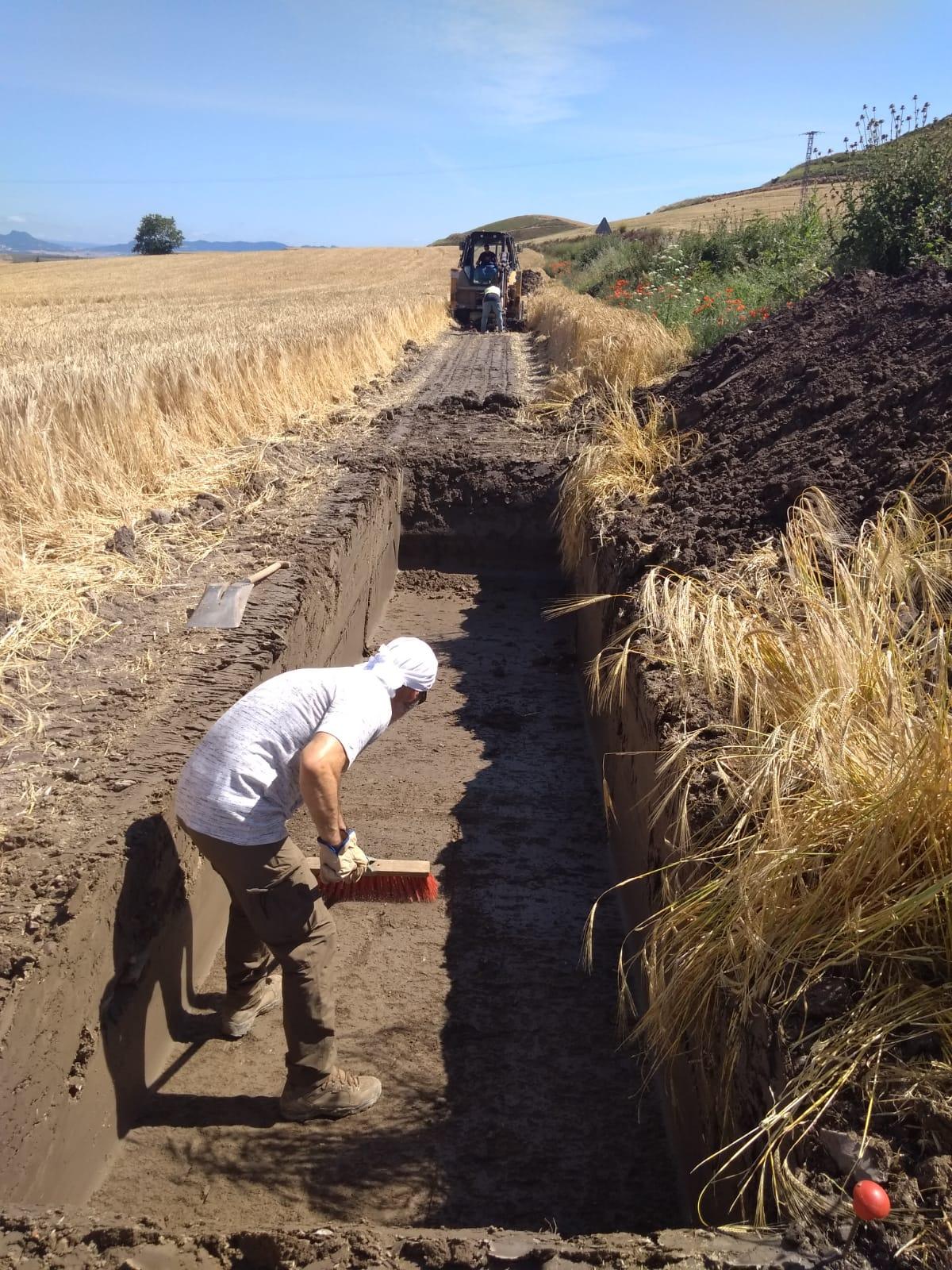 Comienzan las obras del tramo Santo Domingo-Villamayor del Río de la A-12 3