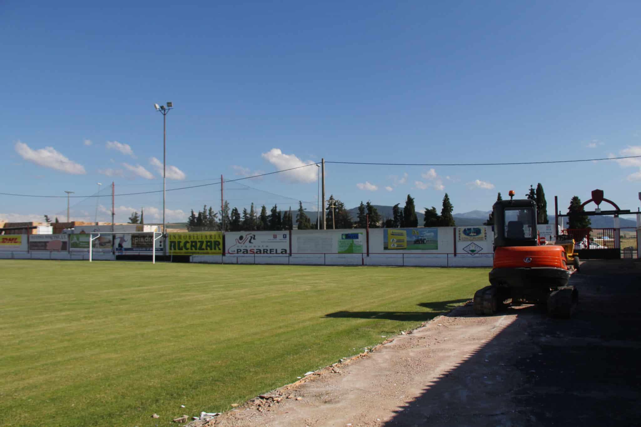 Obras de mejora en El Rollo de Santo Domingo 1