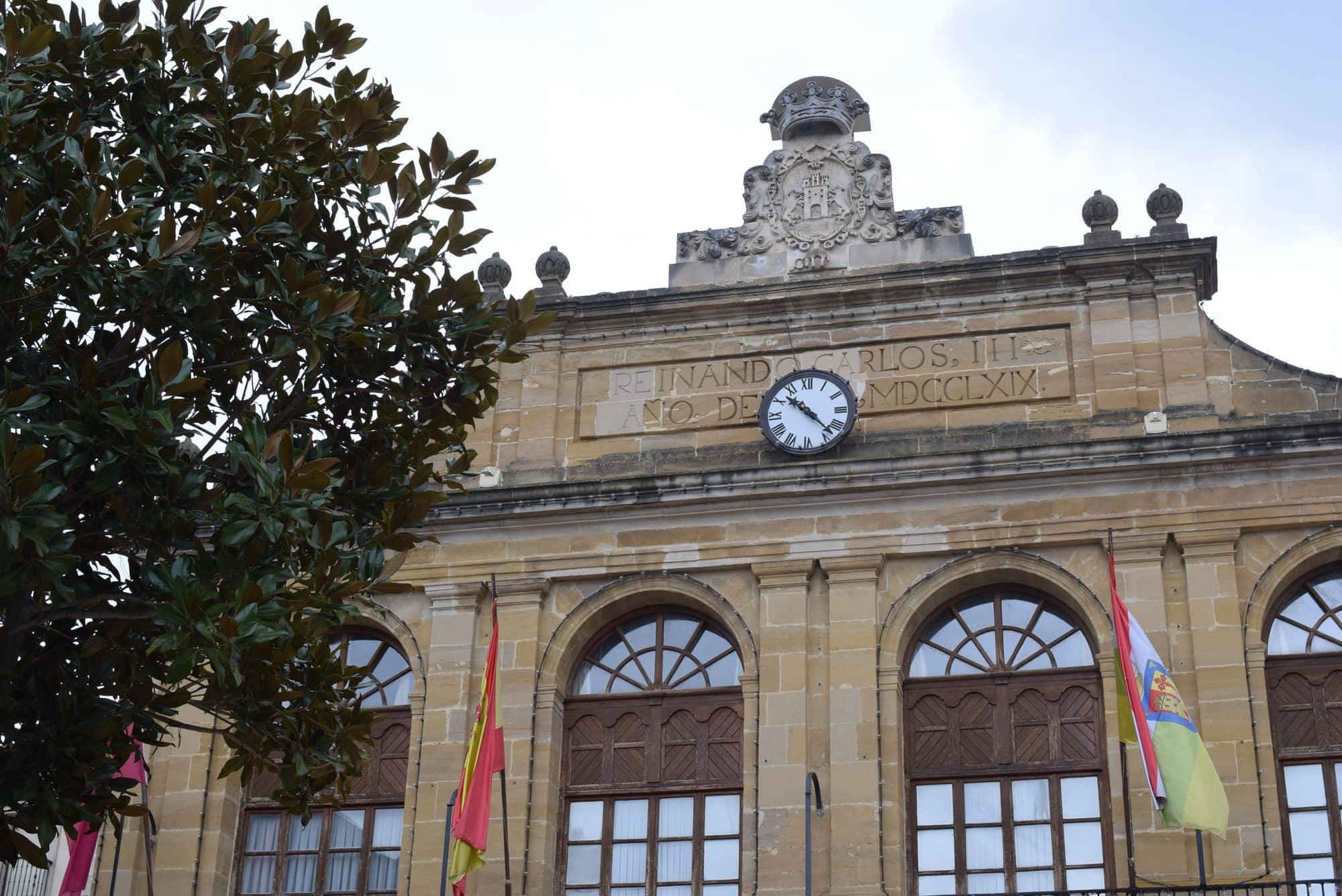 Fachada del Ayuntamiento de Haro