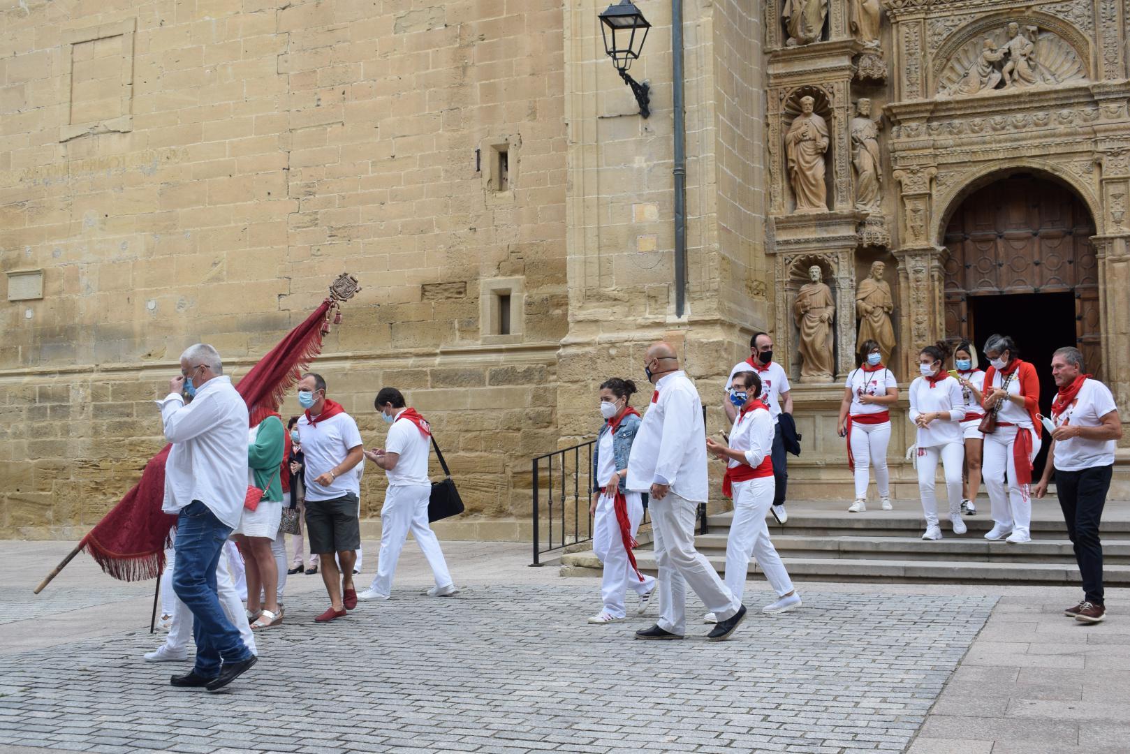 Haro celebra un atípico San Pedro 3