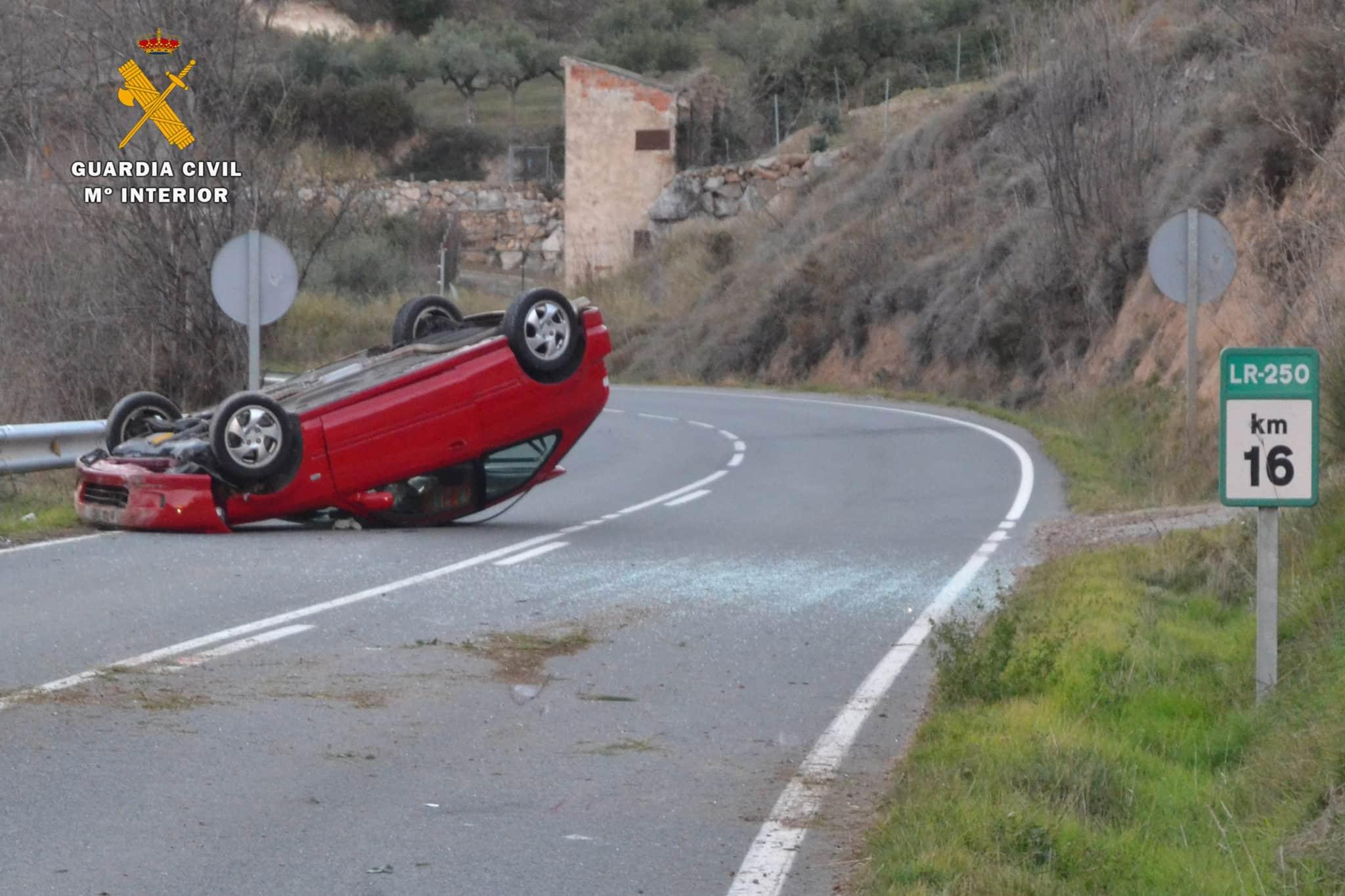 La Guardia Civil investiga al conductor que atropelló mortalmente a un hombre en La Rioja 1