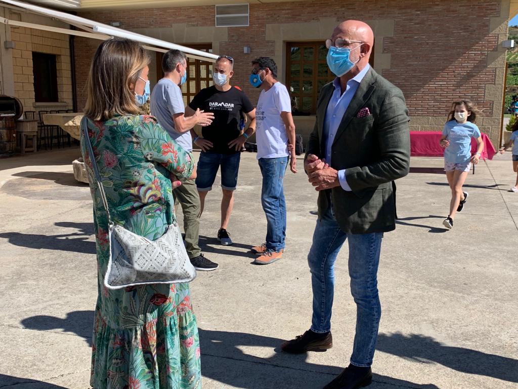 Juanra Calvo une Haro a la 'cordada' para visibilizar la ELA 2