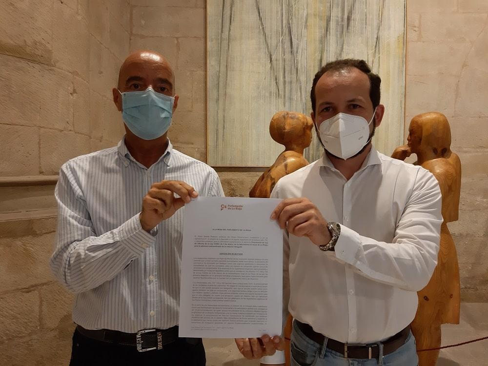 Ignacio Tricio y Pablo Baena