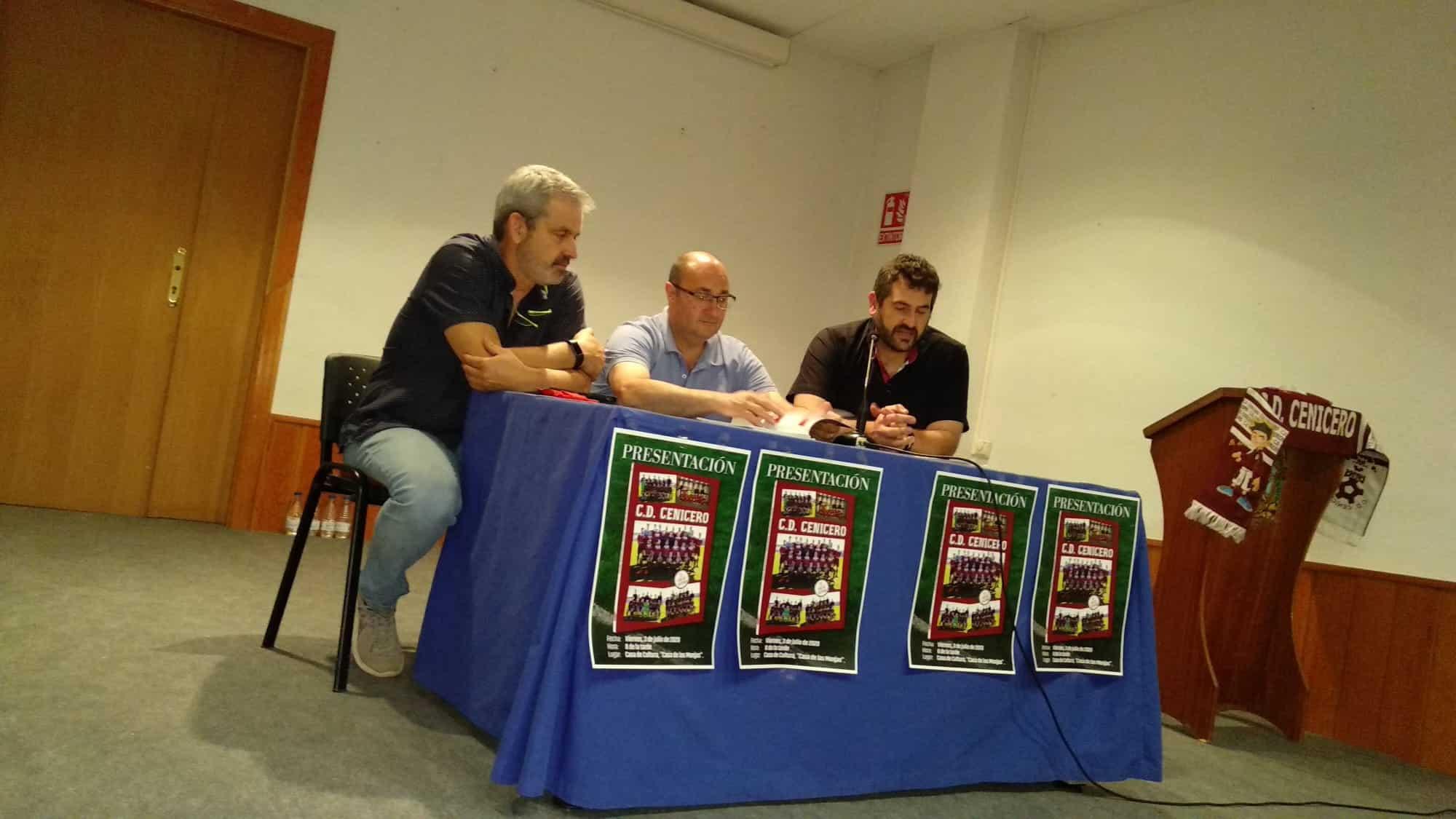 El CD Cenicero celebra sus 35 años de historia con el anhelo de regresar a Tercera 1