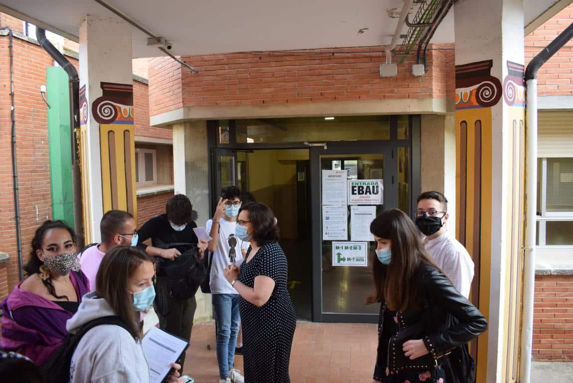 FOTOS: La EBAU se estrena en Haro por el COVID-19 13