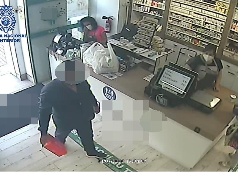 Robo en un establecimiento