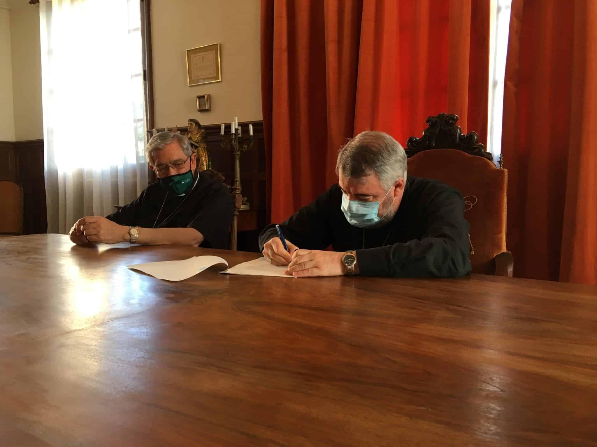 La orden benedictina dona a la Diócesis el monasterio de Valvanera 1