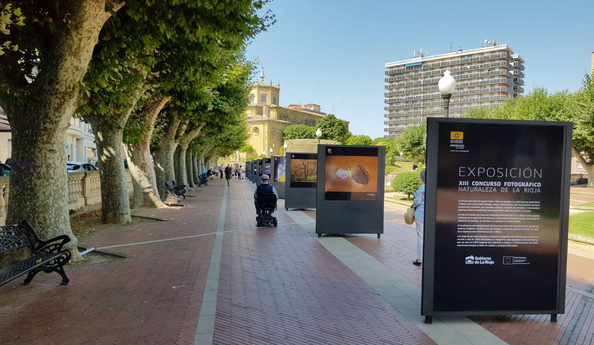 Haro exhibe la muestra fotográfica al aire libre 'Naturaleza de La Rioja' 1