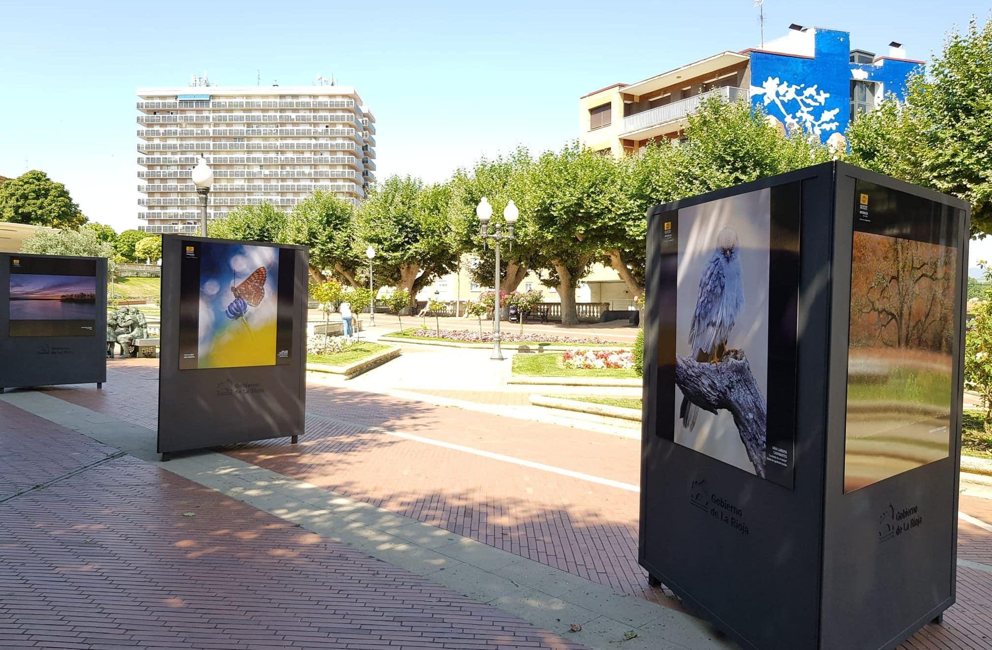 Haro exhibe la muestra fotográfica al aire libre 'Naturaleza de La Rioja' 2