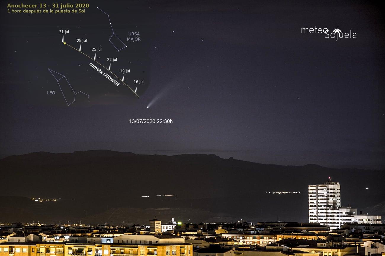 FOTOS: El cometa Neowise se deja ver en La Rioja 2
