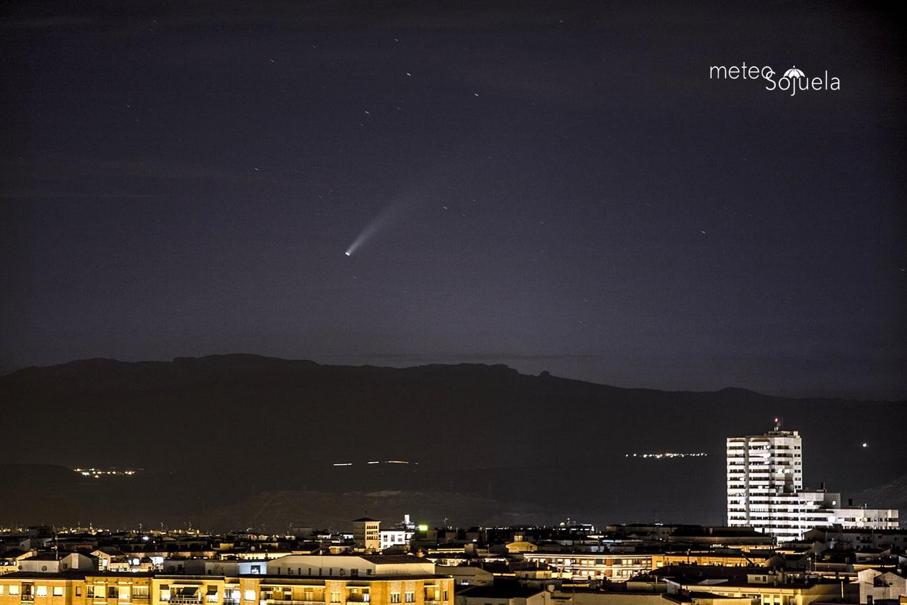 FOTOS: El cometa Neowise se deja ver en La Rioja 1