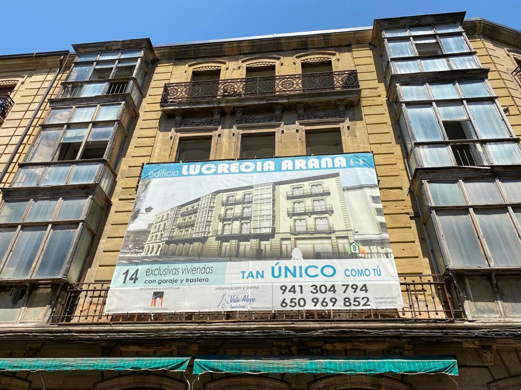 Una promotora recuperará el edificio Felipe Pérez en Haro 1