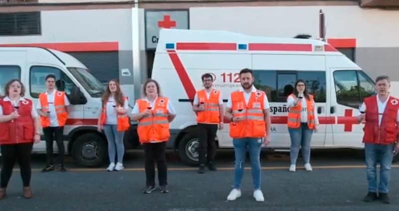 Miembros de Cruz Roja