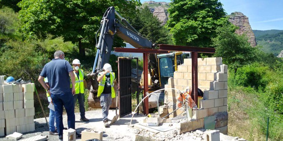 Finalizan las obras de mejora del depósito de agua en Matute 1