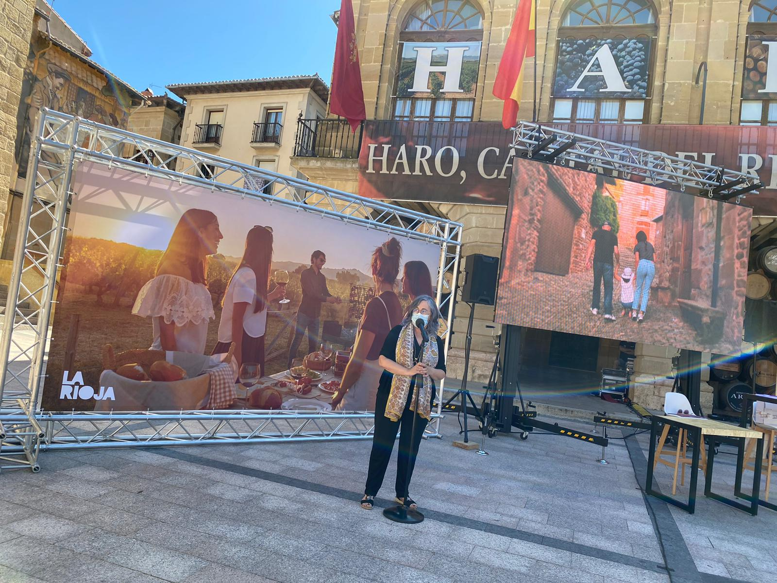 Haro se enrola en la campaña turística 'Reserva para volver' del Gobierno riojano 1
