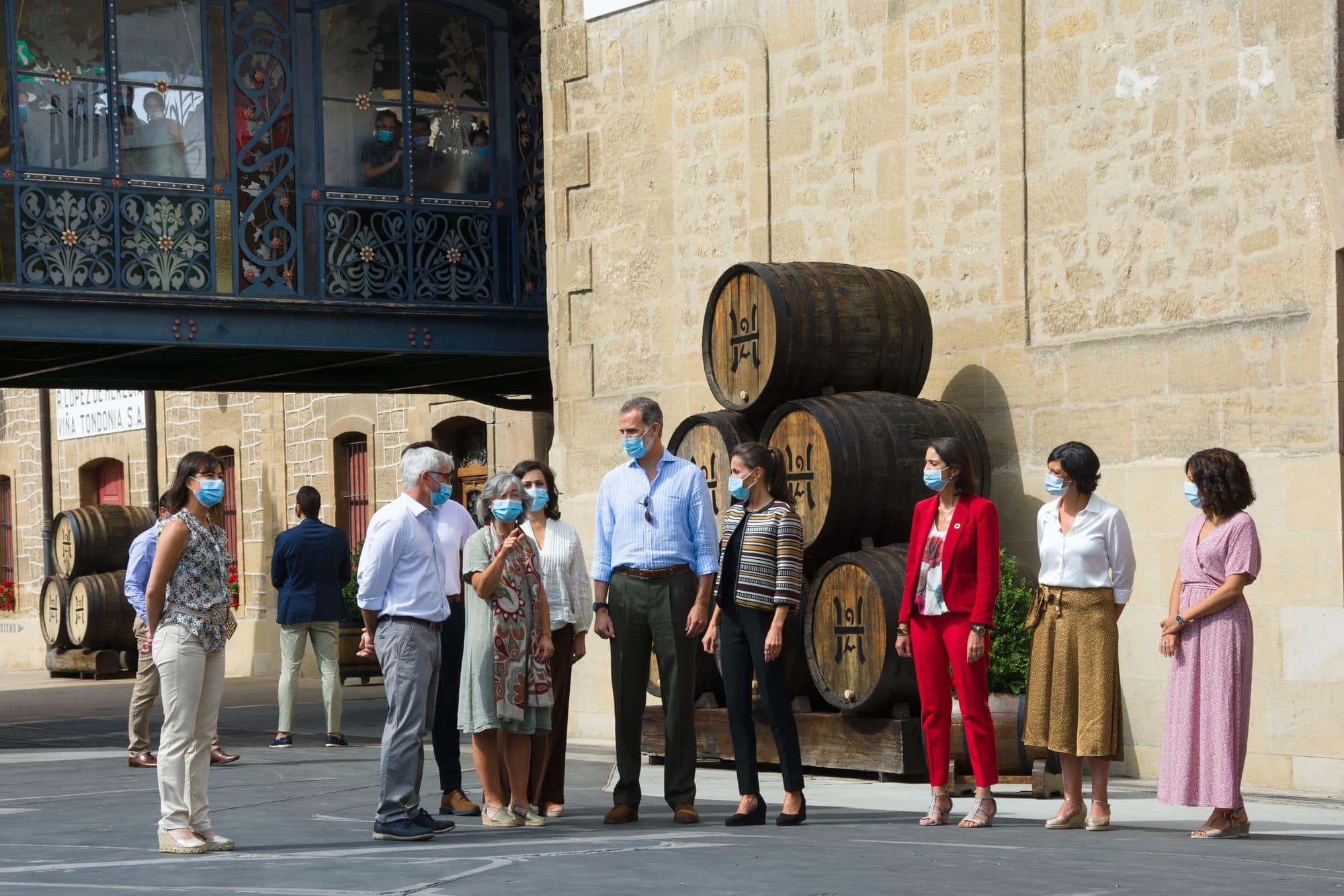 Los Reyes de España visitan Haro 3