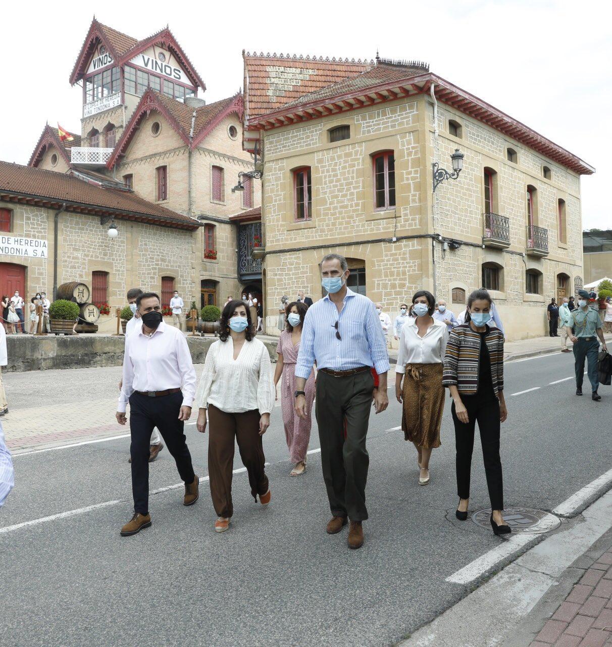 Los Reyes de España visitan Haro 10