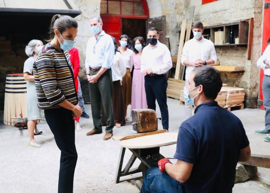 Los Reyes de España visitan Haro 15