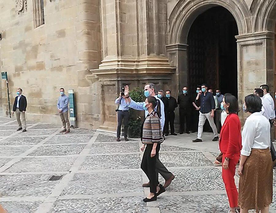 Los Reyes de España, en Santo Domingo de la Calzada 2