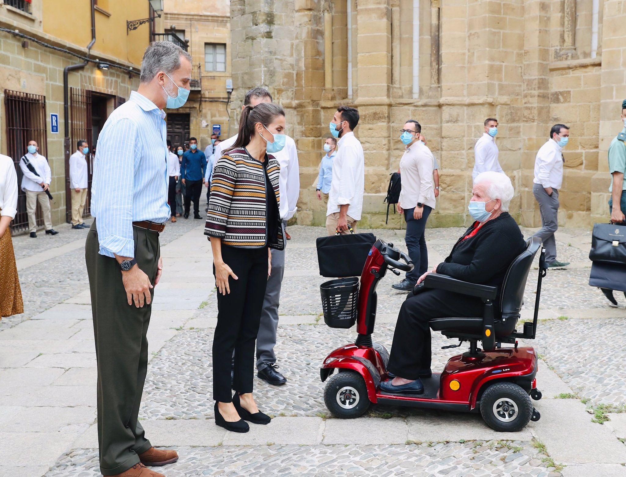 Los Reyes de España, en Santo Domingo de la Calzada 4