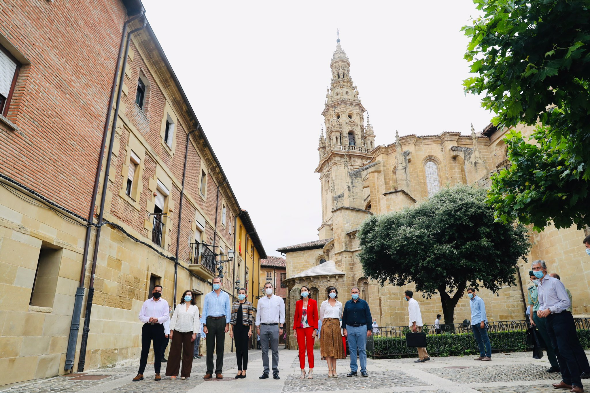 Los Reyes de España, en Santo Domingo de la Calzada 6