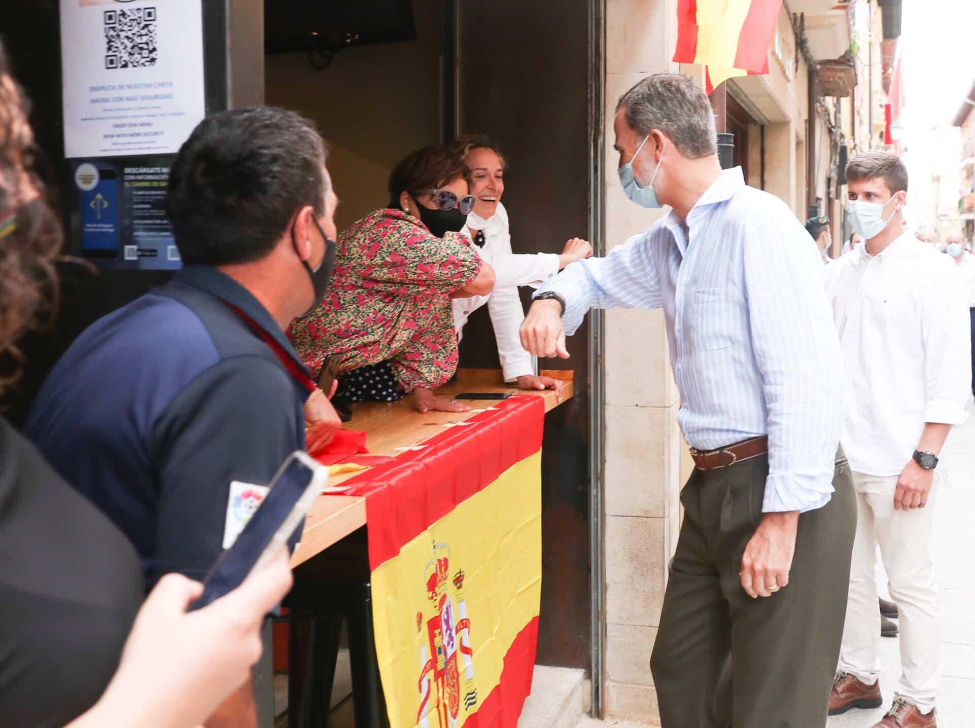 Los Reyes de España, en Santo Domingo de la Calzada 8