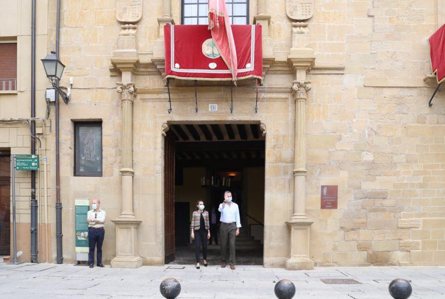 Los Reyes de España, en Santo Domingo de la Calzada 14