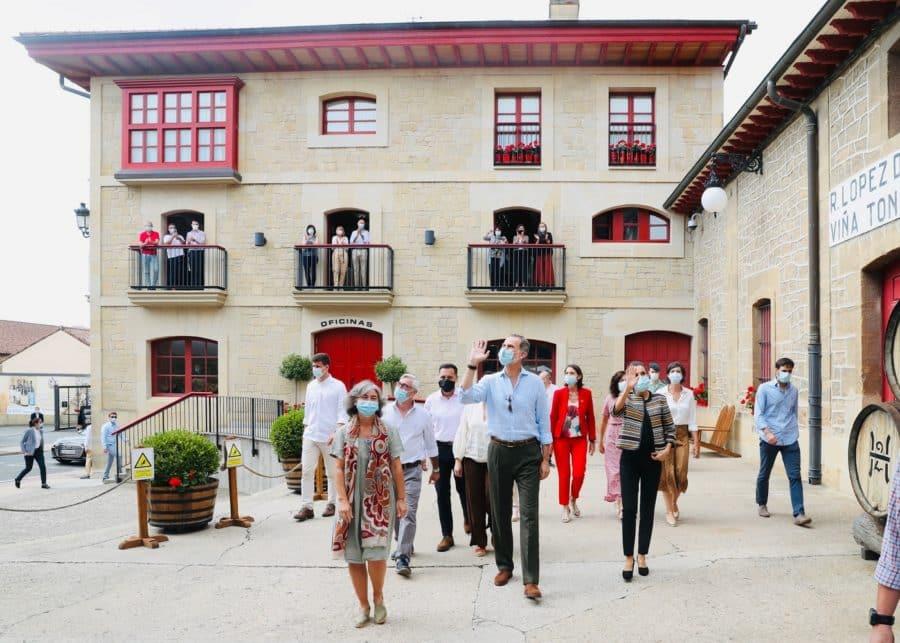 VÍDEO: Las imágenes de la visita de los Reyes de España a Haro y Santo Domingo 4