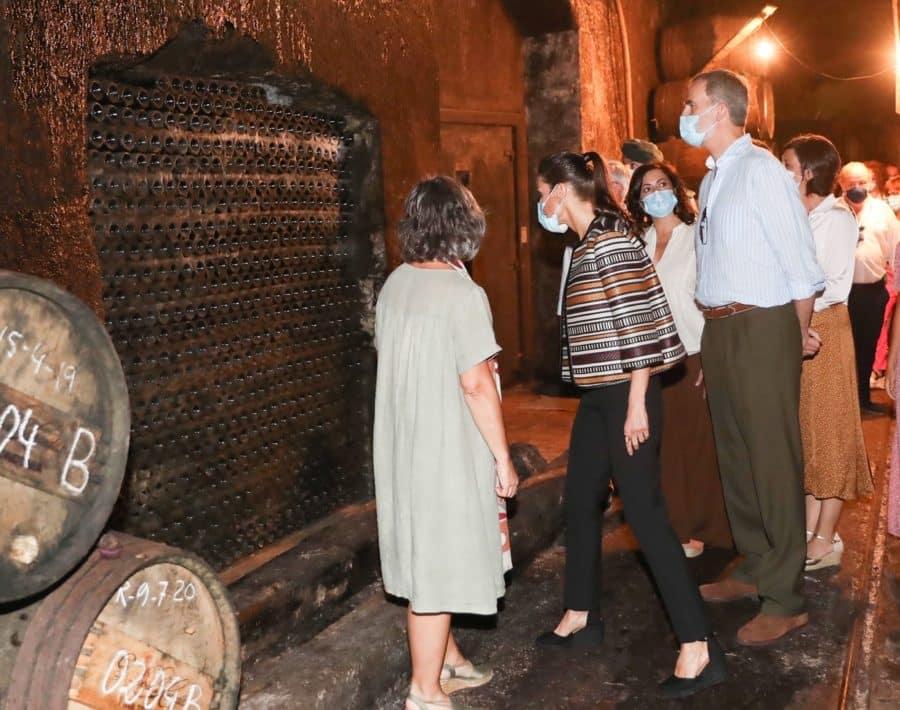VÍDEO: Las imágenes de la visita de los Reyes de España a Haro y Santo Domingo 7