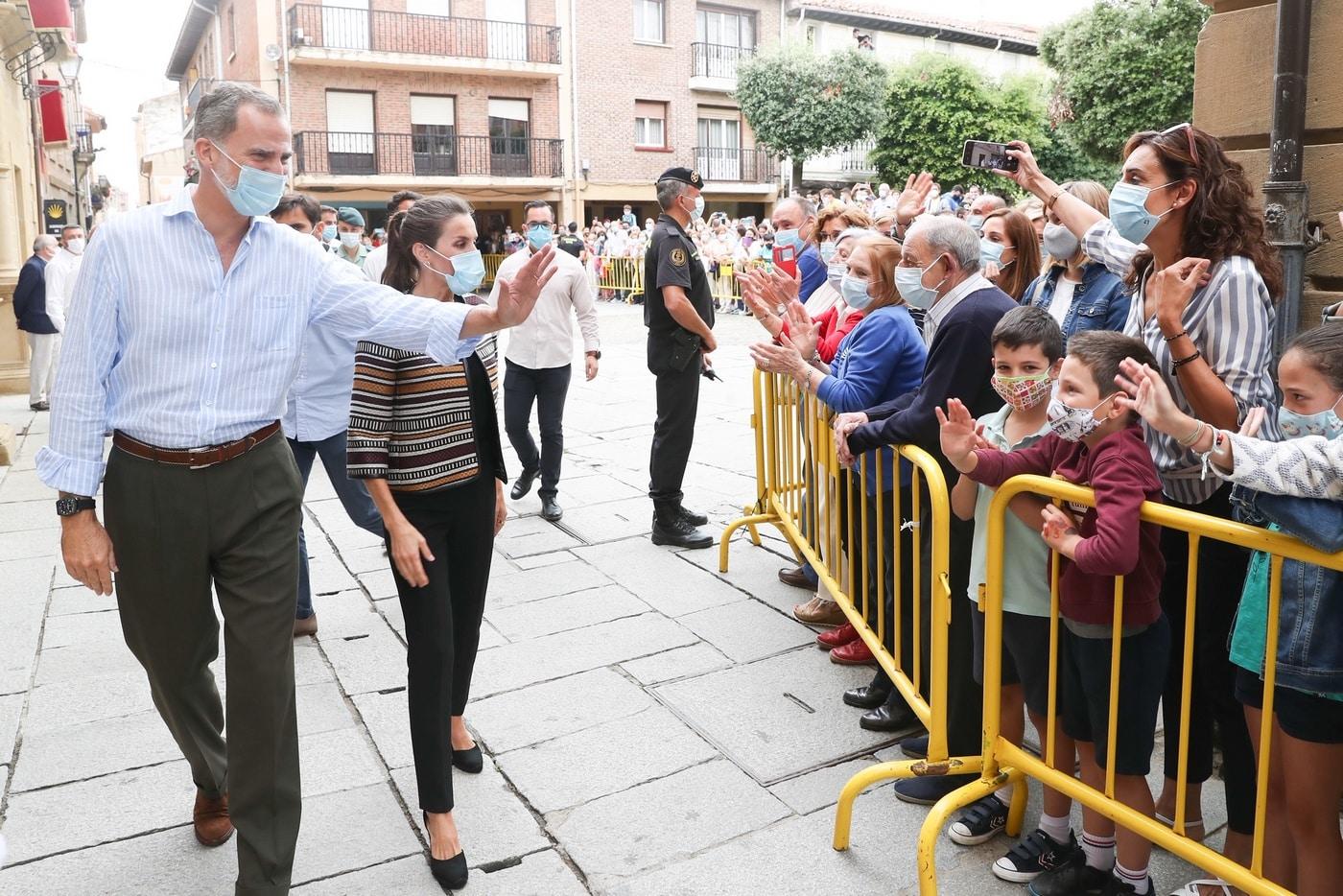 VÍDEO: Las imágenes de la visita de los Reyes de España a Haro y Santo Domingo 13