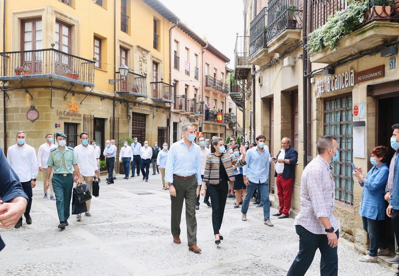 VÍDEO: Las imágenes de la visita de los Reyes de España a Haro y Santo Domingo 14