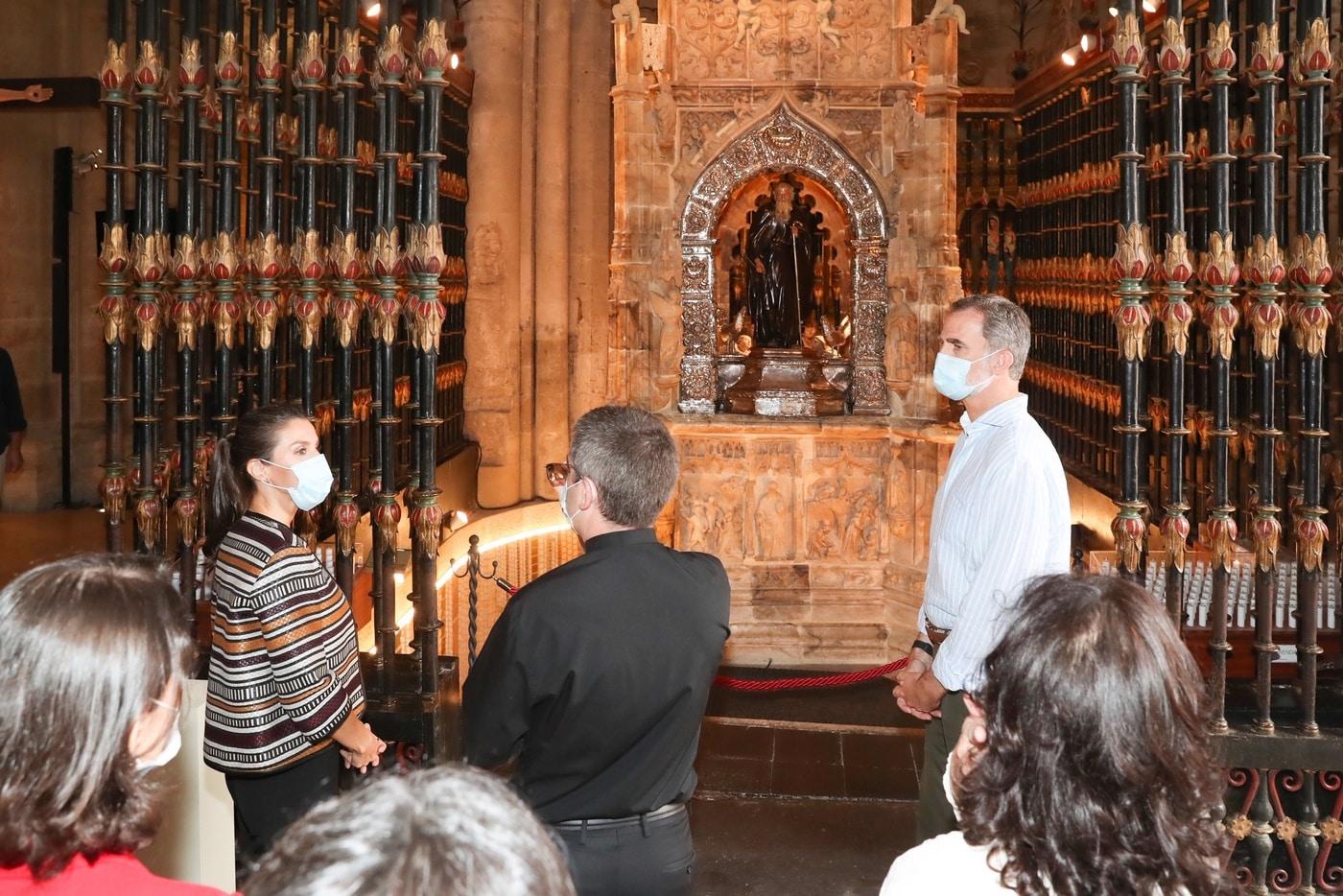 VÍDEO: Las imágenes de la visita de los Reyes de España a Haro y Santo Domingo 16