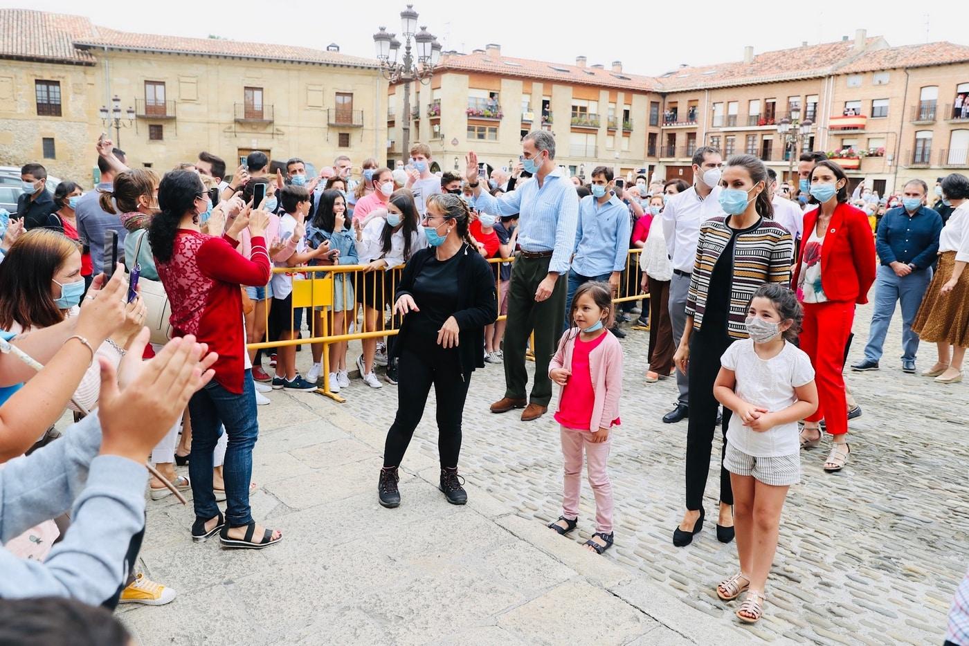 VÍDEO: Las imágenes de la visita de los Reyes de España a Haro y Santo Domingo 19